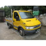 06/06 IVECO DAILY 35C12 SWD - 2300cc 2.dr Tipper (Yellow, 86k)
