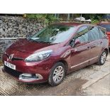 12/12 RENAULT G SCENIC D-QUE TT ENERGY - 1598cc 5dr MPV (Red, 129k)