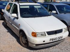 1997 VOLKSWAGEN POLO 1.4 CL - 1390cc 5dr Hatchback (White, 104k)