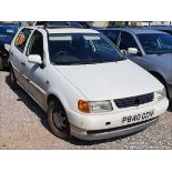 1997 VOLKSWAGEN POLO 1.4 CL - 1390cc 5dr Hatchback (White, 104k)