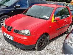 02/02 SEAT AROSA - 998cc 3dr Hatchback (Red, 48k)