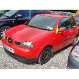 02/02 SEAT AROSA - 998cc 3dr Hatchback (Red, 48k)