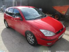 03/53 FORD FOCUS GHIA TDCI - 1753cc 5dr Hatchback (Red, 198k)