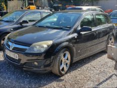 08/57 VAUXHALL ASTRA SRI XP - 1796cc 5dr Hatchback (Black, 122k)