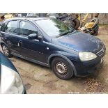 04/53 VAUXHALL CORSA DESIGN 16V - 1199cc 5dr Hatchback (Turquoise, 74k)