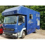 03/03 DAF TRUCKS FA LF45.150 - 3900cc 2.dr Horse Box (Blue, 328k)