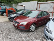 05/05 FORD FOCUS LX - 1596cc 5dr Hatchback (Red, 118k)