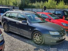 06/55 SAAB 9-3 LINEAR SPORT DT - 1910cc 5dr Estate (Blue, 186k)