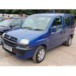 04/04 FIAT DOBLO MULTIJET FAMILY - 1248cc 5dr MPV (Blue, 204k)