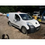 11/11 PEUGEOT BIPPER SE HDI - 1248cc Van (White, 94k)