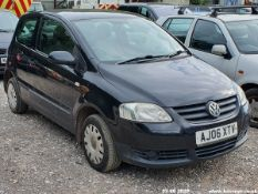 06/06 VOLKSWAGEN URBAN FOX 75 - 1390cc 3dr Hatchback (Black, 134k)