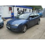 06/55 FORD FOCUS ZETEC CLIMATE 116 - 1596cc 5dr Hatchback (Blue, 123k)
