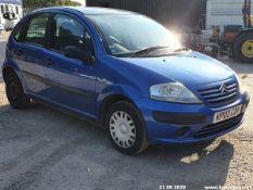 03/03 CITROEN C3 DESIRE - 1360cc 5dr Hatchback (Blue, 121k)