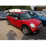 07/07 MINI ONE - 1397cc 3dr Hatchback (Red, 115k)