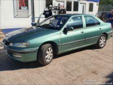 02/52 PEUGEOT 406 GLX HDI (110) - 1997cc 4dr Saloon (Green, 80k)