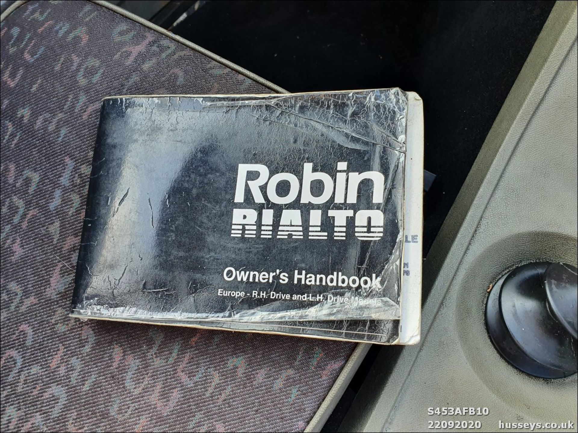 Lotto 3017 - 1998 RELIANT RIALTO VAN - 848cc 3dr Van (Red, 57k)