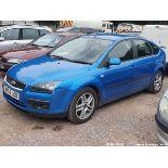 07/56 FORD FOCUS ZETEC CLIMATE TDCI - 1753cc 5dr Hatchback (Blue, 156k)