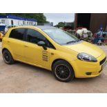 08/58 FIAT GRANDE PUNTO GP 16V - 1368cc 5dr Hatchback (Yellow, 101k)