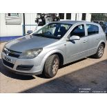 06/55 VAUXHALL ASTRA CLUB CDTI - 1686cc 5dr Hatchback (Silver, 132k)