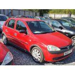 02/52 VAUXHALL CORSA LIFE 12V - 973cc 5dr Hatchback (Red, 72k)