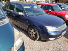 05/05 FORD MONDEO GHIA TDCI - 1998cc 5dr Hatchback (Blue, 139k)