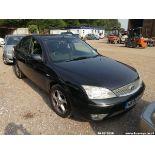 06/06 FORD MONDEO EDGE 130 TDCI - 1998cc 5dr Hatchback (Black, 145k)