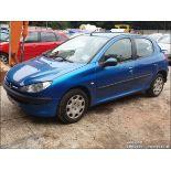 04/54 PEUGEOT 206 S - 1360cc 5dr Hatchback (Blue, 166k)