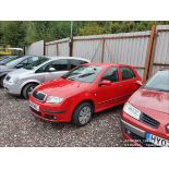 06/06 SKODA FABIA AMBIENTE 12V HTP - 1198cc 5dr Hatchback (Red, 98k)