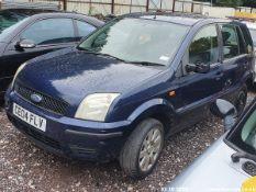 04/04 FORD FUSION 2 16V - 1388cc 5dr Hatchback (Blue, 65k)