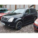 07/57 SSANGYONG REXTON 270 SX 5S AUTO - 2696cc 5dr Estate (Black, 70k)