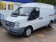 09/09 FORD TRANSIT 85 T280M FWD - 2198cc Van (White, 88k)