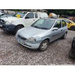 1999 VAUXHALL CORSA GLS 12V - 973cc 3dr Hatchback (Silver, 135k)