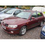 02/02 NISSAN ALMERA SE - 1497cc 5dr Hatchback (Red, 110k)