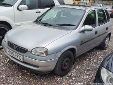 1998 VAUXHALL CORSA BREEZE HI-TORQ - 1389cc 5dr Hatchback (Silver, 57k)