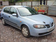 06/06 NISSAN ALMERA S - 1497cc 5dr Hatchback (Blue, 150k)