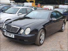 2000 MERCEDES CLK430 AVANTGARDE AUTO - 4266cc 2dr Coupe (Black, 149k)