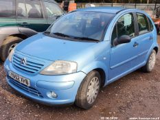03/52 CITROEN C3 SX - 1360cc 5dr Hatchback (Blue, 67k)