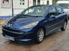09/09 PEUGEOT 207 S - 1360cc 5dr Hatchback (Blue, 96k)