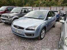 06/06 FORD FOCUS ZETEC CLIMATE 116 - 1596cc 5dr Hatchback (Blue, 66k)