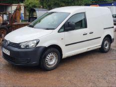 13/13 VOLKSWAGEN CADDY C20 TDI 75 - 1598cc Van (White, 75k)