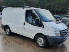 11/61 FORD TRANSIT 115 T280S FWD - 2198cc 5dr Van (White, 50k)
