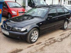 05/05 BMW 320 D SE TOURING - 1995cc 5dr Estate (Black, 200k)