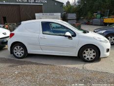 11/11 PEUGEOT 207 HDI - 1398cc 3dr Van (White, 118k)