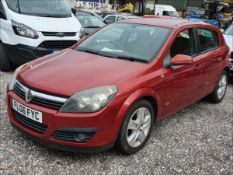 06/06 VAUXHALL ASTRA SXI TWINPORT - 1598cc 5dr Hatchback (Red, 124k)