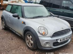 10/60 MINI ONE D - 1598cc 3dr Hatchback (Silver, 79k)
