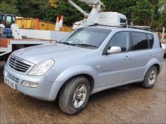 05/55 SSANGYONG REXTON RX270 C - 2696cc 2dr Van (Silver, 110k)