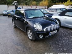 09/09 MINI ONE - 1397cc 3dr Hatchback (Black, 100k)