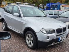 07/07 BMW X3 SE - 1995cc 5dr Estate (Silver, 67k)