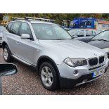 07/07 BMW X3 SE - 1995cc 5dr Estate (Silver, 67k)