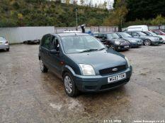 03/03 FORD FUSION 2 16V - 1596cc 5dr Hatchback (Green, 122k)